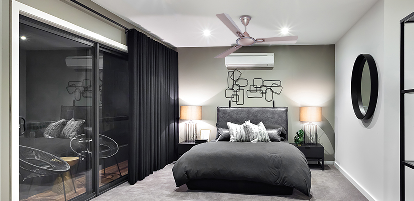 Save electricity using fan and AC together