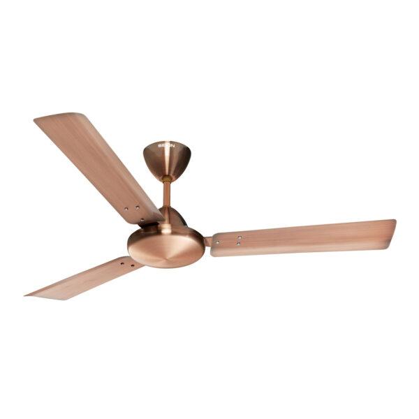 Seion Phoenix Ceiling Fan - Antique Copper