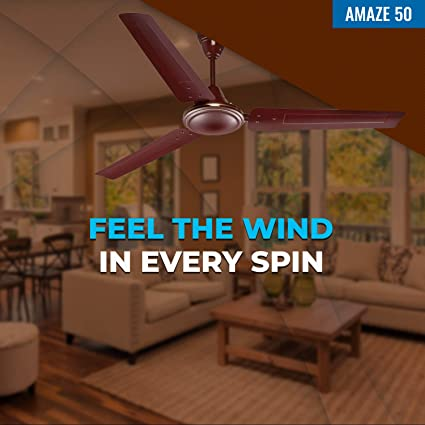 Seion Amaze 50 - Feel The Wind In Every Spin