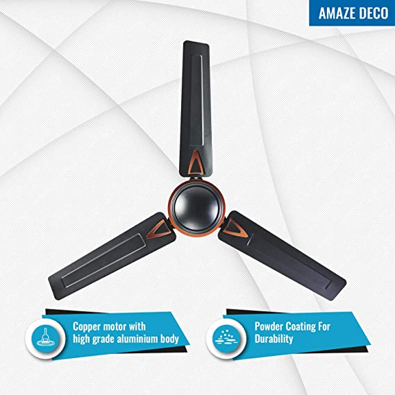 Seion Amaze Deco - Ceiling Fan Features