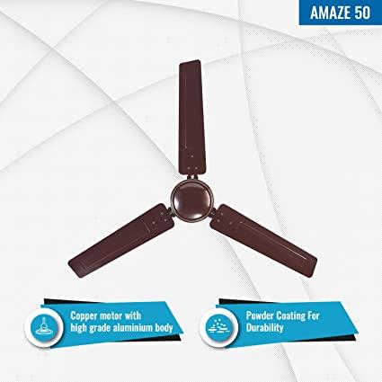 Amaze 50 Ceiling Fan - Features
