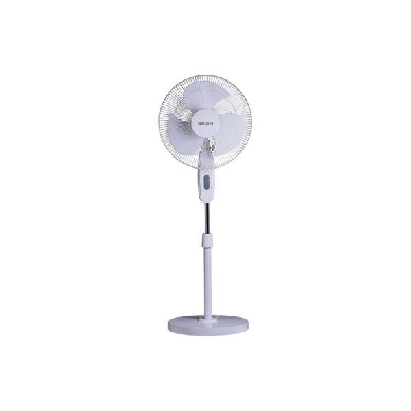 Seion Super Flow Pedestal Fan - White