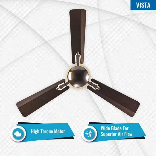 Seion Vista Premium Ceiling Fan - Features